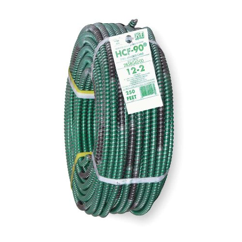 250 ft stranded armored cable conductors 2 with ground 12 awg stranded armored cable conductors 2 with ground 12 awg wire size green greentooth Images